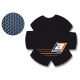 Adesivo carter frizione KTM SX 125 - 144 08-15 / EXC 125 - 144 08-15 BLACKBIRD