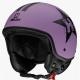Casco Demi-Jet HEVIK HV9 Purple Star