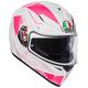 Casco Integrale AGV K3 SV '18 MULTI IZUMI white | pink