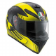 Casco Integrale AGV K3 SV MULTI GLIMPSE black metal | yellow