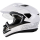 Casco integrale O'NEAL Tioga DS SOLID white