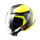 Casco Jet LS2 OF573 TWISTER Plane yellow | black | red