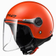 Casco Jet LS2 OF575 WUBY JUNIOR gloss red