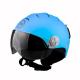 Casco omologato sci BHR SKI 820 azzurro opaco