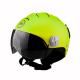 Casco omologato sci BHR SKI 820 verde metallizzato