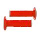 Coppia manopole R-TECH Extrasoft doppia mescola grigio - rosso