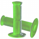 Coppia manopole TECHNOMOUSSE verde