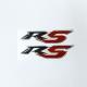 Adesivo R5 3D per T-MAX nero | rosso 2pz.