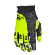 Guanti cross | enduro FLY RACING F-16 nero - giallo fluo