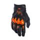 Guanti cross | enduro FOX Bomber Glove con protezione nocche nero | arancio