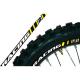 Kit adesivi cerchi Racing BLACKBIRD giallo
