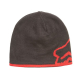Berretto FOX Streamliner beanie double face nero | rosso scuro '18