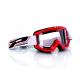 Maschera PROGRIP 3201 atzaky rosso lente trasparente