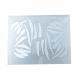 Adesivi coppia HD resistente alle alte temperature DAKAR silver dx + sx