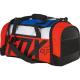 Borsone FOX 180 CREO DUFFEL bag 25cm x 50cm x 28cm nero / arancio fluo / bianco / blue