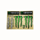 Adesivi Monster & graffio (kit 8 pz.) tab. gigante cm 33x23