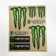 Adesivi Monster & graffio (kit 8 pz.) tab. grande cm 20x24