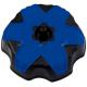 Tappo serbatoio RTECH bicolore nero - blu per YAMAHA YZF 250 - 450 1998-2013 / YZ 125 - 250 1998-2016