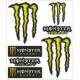 Adesivi Monster tabella gigante (6 pz.)