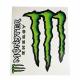 Adesivi Monster tabella gigante (2 pz.)