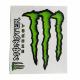 Adesivi Monster tabella media (2 pz.)