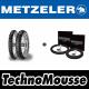 Treno METZELER Six Days Extreme + Treno TechnoMousse Sahara 140/80-18 90/90-21