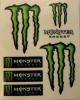 Adesivi Monster tabella standard (6 pz.)