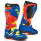 Stivali TCX COMP EVO 2 MICHELIN red | bright blue | yellow fluo 2019