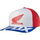 Cappello FOX HONDA Flexfit hat rosso / bianco