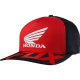Cappello FOX HONDA Flexfit hat rosso / nero