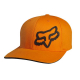 "Cappello FOX Signature Flexfit Hat arancio ""XXL"""