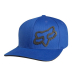 "Cappello FOX Signature Flexfit Hat blue ""S/M"""