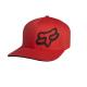 """Cappello FOX Signature Flexfit Hat rosso """"XS/S"""""""