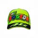 Cappello VR46 giallo fluo