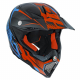 Casco Cross | Enduro AGV AX8 CARBON MULTI - CARBOTECH ORANGE | BLUE