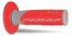 Coppia manopole PROGRIP 801 soft touch doppia densità grigio   rosso