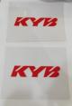 """Adesivi protezione stelo forcella 3M vinile """"""""KYB"""""""