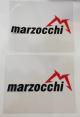 """Adesivi protezione stelo forcella 3M vinile """"MARZOCCHI"""""""