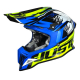 Casco Cross | Enduro JUST1 J12 DOMINATOR neon yellow | blue