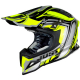 Casco Cross | Enduro JUST1 J12 FLAME yellow | black