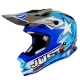 Casco Cross   Enduro JUST1 J32 Junior Moto X blue
