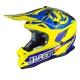 Casco Cross | Enduro JUST1 J32 Pro Rave blue | yellow