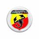 Adesivo ABARTH 3D stemma 44mm