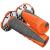Coppia manopole SCOTT Grip Duece arancio|grigio