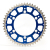 Corona FUSION bi-metallo blu 50 YAMAHA