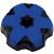 Tappo serbatoio RTECH bicolore nero - blu per TM EN-MX 125-450 08-14 *
