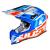 Casco Cross | Enduro JUST1 J12 DOMINATOR white | red | blue